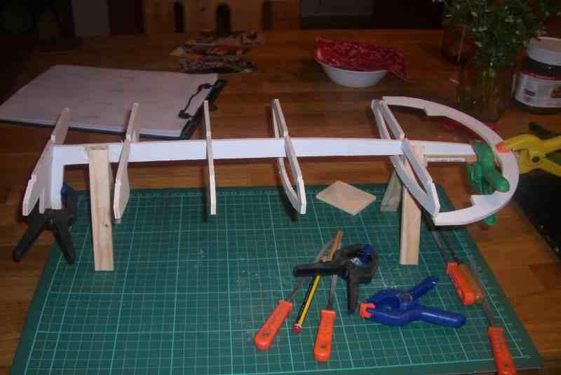 baubericht flying saucer ufo 1 152vo modelle bau. Black Bedroom Furniture Sets. Home Design Ideas