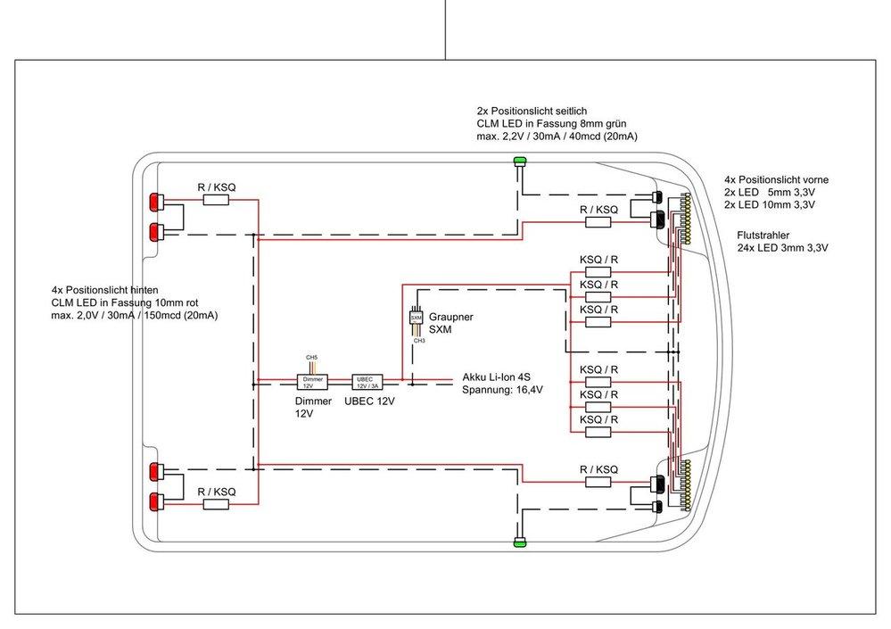 Fantastisch Led Beleuchtung Diagramm Fotos - Elektrische Schaltplan ...