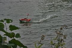 10. Auch die Seenotretter fahren zu neuen Herausforderungen.