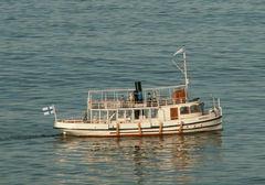 Ilmarinen Passagierdampfer, Finnland - Maßstab 1:24 - kein Scalenachbau, nur vorbildähnlich Hier bei einer Fahrt auf der Ostsee.