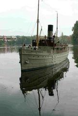 Nordbornholm dänische Fracht- und Personenfähre, 1929 - Maßstab 1:24 auf der Saaler Mühle