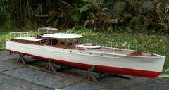 Oheka II Lürssen 1927 Maßstab 1:18 nach Werftplan und Fotos