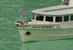 Lilla Weneda - polnisches Fahrgastschiff (1961 Danzig) 1:20
