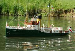 Altenbruch Lotsenboot - Maßstab 1:24 - Planbau gehört Bodo Kröll (Modellbaufreunde Düsseldorf)