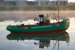 Ymer dänischer Hafenschlepper - Maßstab 1:50 - mit dänischem Neutralitätsabzeichen gehört meinem Freund Burkhard Schütt (der auch das tolle Foto geschossen hat)