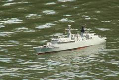 Fregatte HMS Beaver - Modell von Jürgen K. / Modellbaufreunde Düsseldorf beim Schaufahren am 21.06.2009 in Mönchengladbach.
