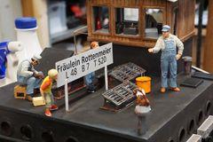 469 Detail Dach Wohntrakt Figuren Von BB