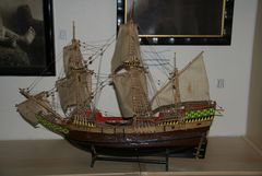 Mayflower, alter Graupner Baukasten