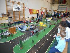 Modellbootausstellung Und Showfahren Im FEZ Berlin 010