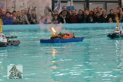 Feuerlöschübung - Messe Friedrichshafen 2015