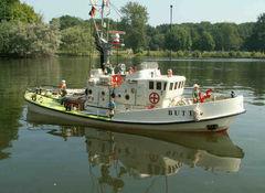 Butt - Maßstab 1:24 - Seenotrettungskreuzer meines Modellbaukollegen Klaus Ebensen, Modellbaufreunde Düsseldorf.