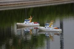 Modellbootfahren in Essen Neue Grüne Mitte