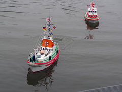 JojoElbes Flotte in Fahrt